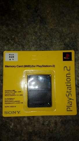 Memory Card (8mb) Play 2 Original