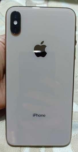 Vendo iphone xs max dorado 64gb