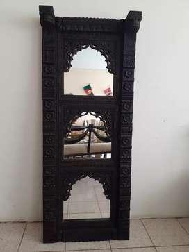 Hp antiguo espejo tallado