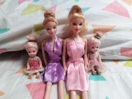 Set muñecas hermanas