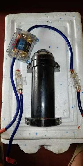 Capacitor para sonido