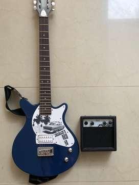 Guitarra electrica fist act + amplificador fist act