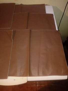 Individuales para mesa color marrón lavable