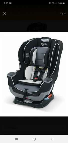 Silla de Carro para Bebé - Graco Extend2fit