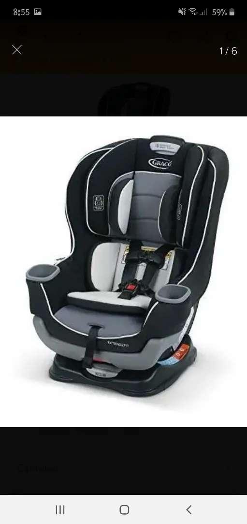 Silla de Carro para Bebé - Graco Extend2fit 0