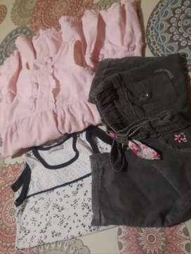 Lote vestidito, body y pantalón corderoy minimimo-CHEEKY
