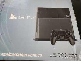 GS 4 200 juegos tipo Atari