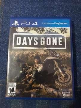 Videojuego fisico days gone para ps4