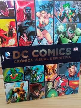 Libro DC Cómics original, edición limitada y de lujo