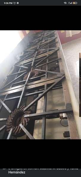 Hermosa estufa industrial en acero inoxidable 6 Boquillas.