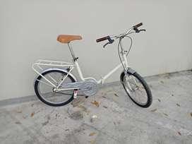 Bicicleta plegable rodado 20