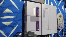 Consola de Súper Nintendo toda Original