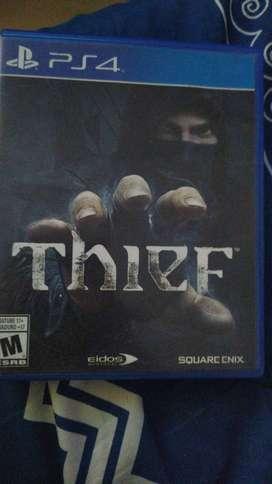 Juego Thief PS4