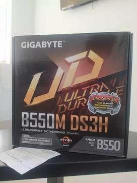 Board Gigabyte B550m DS3H Pc gamer