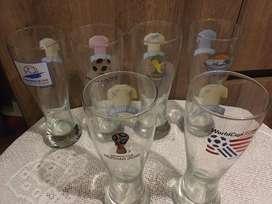 Coleccion de vasos copa america