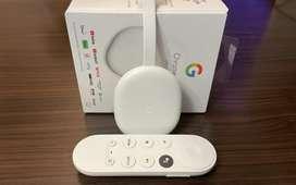 Google Tv Google Chromecast 4