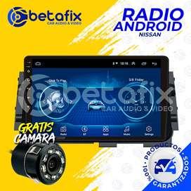 RADIO ANDROID NISSAN VERSA 2020-UP GPS BT USB WIFI BETAFIX