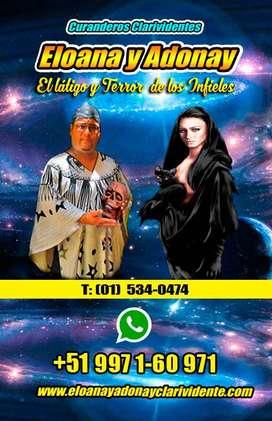 ELOANA Y ADONAY AUTENTICOS CURANDEROS CLAVIDENTES