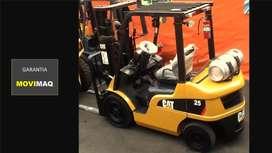 Montacargas Caterpillar 2.5 toneladas con Garantía