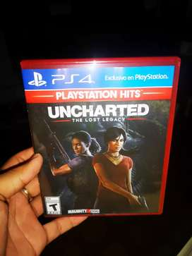 PS4 UNCHARTED LEGACY