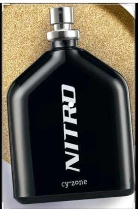 Loción Nitro negra de cyzone 100ml perfume
