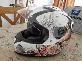 Casco Shark Talle s impecable!!