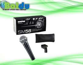 Micrófono Alambrico Shure Sm58-lc