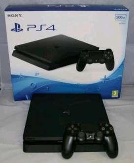 PLAYSTATION 4 500gb en caja con 2 mandos