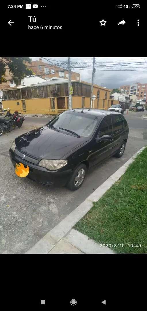 Fiat Palio fire 2006.aire,hidráulica,rines,llantas al 90%control velocidad 0