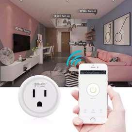 Enchufe interruptor inteligente WiFi Prender Alexa Google Foco Electrodomesticos Smart Gosund