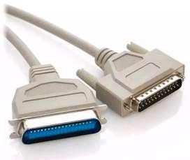 Cable Paralelo DB 25 a Centronics Para Impresora