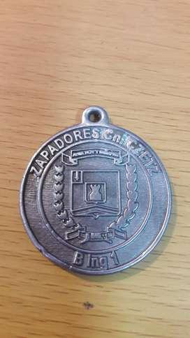 antigua medalla zapadores cnl czetz ejercito argentino