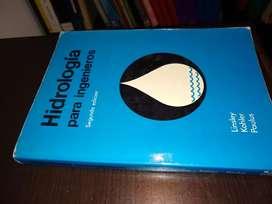Hidrología para Ingenieros Lindley Kohler segunda edición