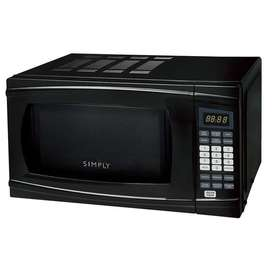 Horno Microondas 0.7pc Negro Simply Turn On Sm072