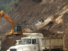 Volquetas para transporte de material, desalojos y movimiento de tierras