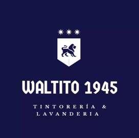 Tintorería y lavandería Waltito 1945