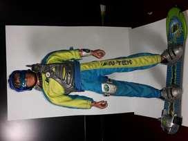 Figura Max Steel tornado Chaser. Original-Mattel