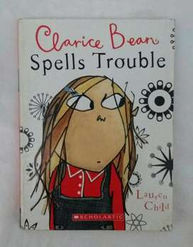 Clarice Bean Spells Trouble Lauren Child