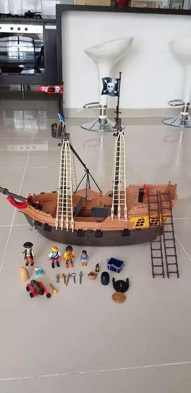 barco pirata Playground en perfecto estado