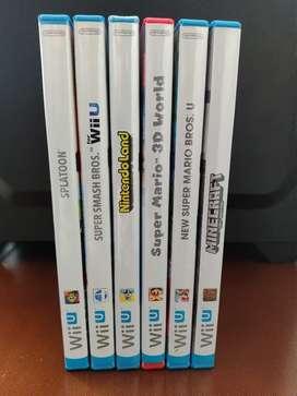 Videojuegos originales para Wii U