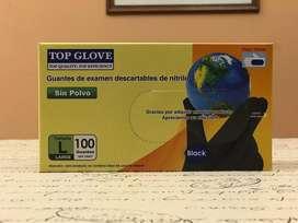 Guantes Nitrilo Negro | Unidad | Top Glove