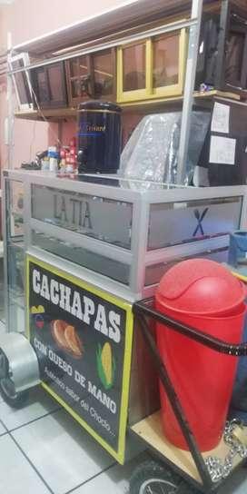 carrito de comida rapida nuevo
