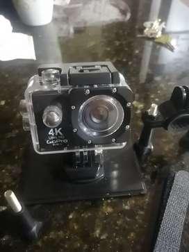Gopro 4k con accesorios