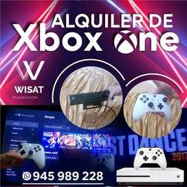Alquiler de Xbox one