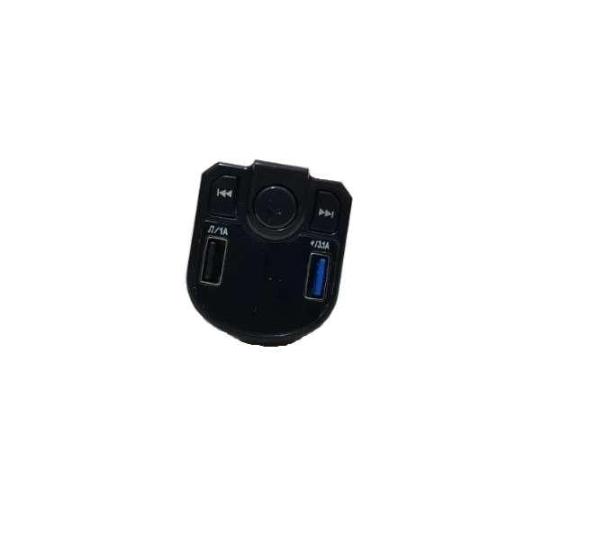 reproductor MP3 para coche Transmisor FM X23, salida USB dual, Bluetooth 3,0 + ED