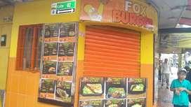 Se vende negocio de comidas rapidas