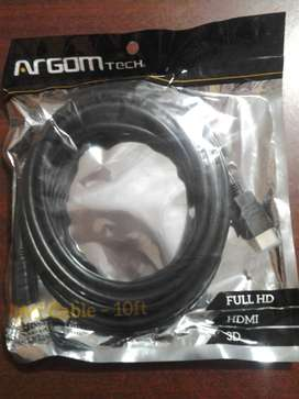 CABLE HDMI DE 3mt