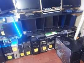 GRAN REMATE DE COMPUTADORES. CPU Desde 140mil, Pantallas desde 80mil Listas para trabajar