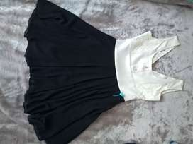 Vestido formal monocromatico