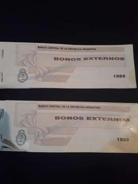 Bonos Externos 1989